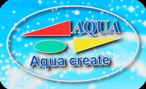aqua create Logo mark
